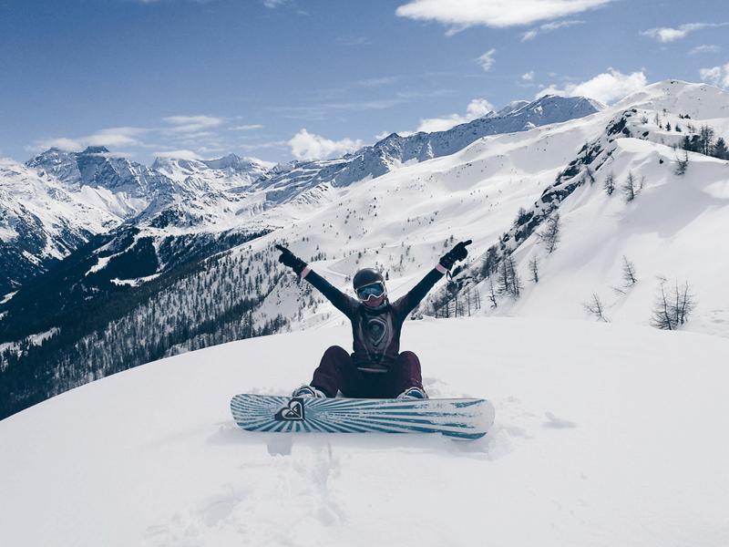 Verbier wyjazd na snowboard w Alpy