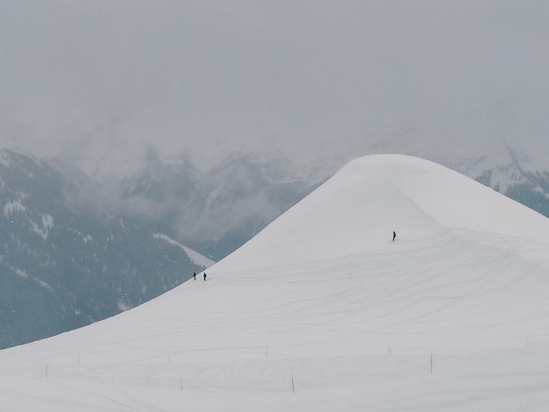 Freeride w Verbier w Alpach Szwajcarskich