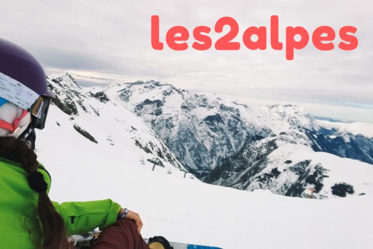 Les Deux Alpes snowboard