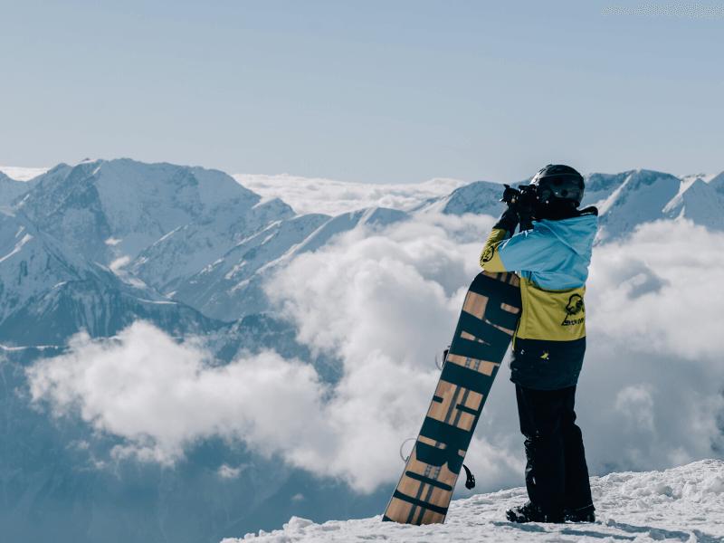 Agnieszka Zając snowboardowy fotograf