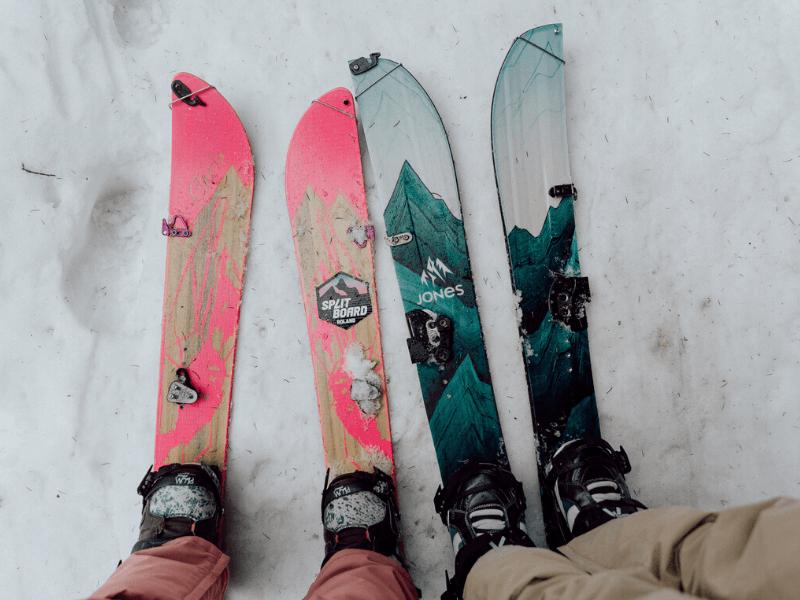 """Splitboard czyli """"ski toury"""" dla snowboardzistów"""